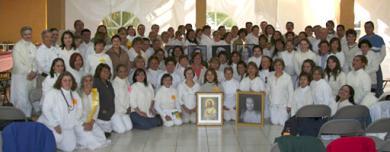 80 new disciples of Paramhansa Yogananda in Mexico