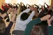 Energization exercises at a retreat