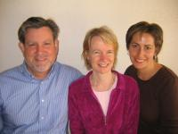 Dr. Peter, Maitri and Suzanne