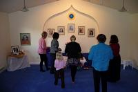 Dedicating the new Meditation Chapel in the Ananda Portland Community