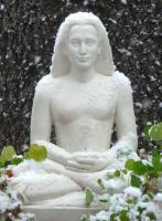 Babaji in the snow, winter 2008