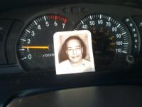 Dashboard photo of Yogananda