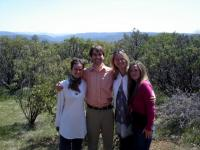 Shenoa, Me, Lori and Kelly. Thank you, dear friends, for the joy and the laughter.