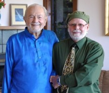 Swami Kriyananda and Michael Deunov