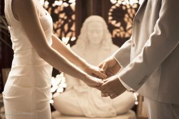 Gita's Wedding, holding hands