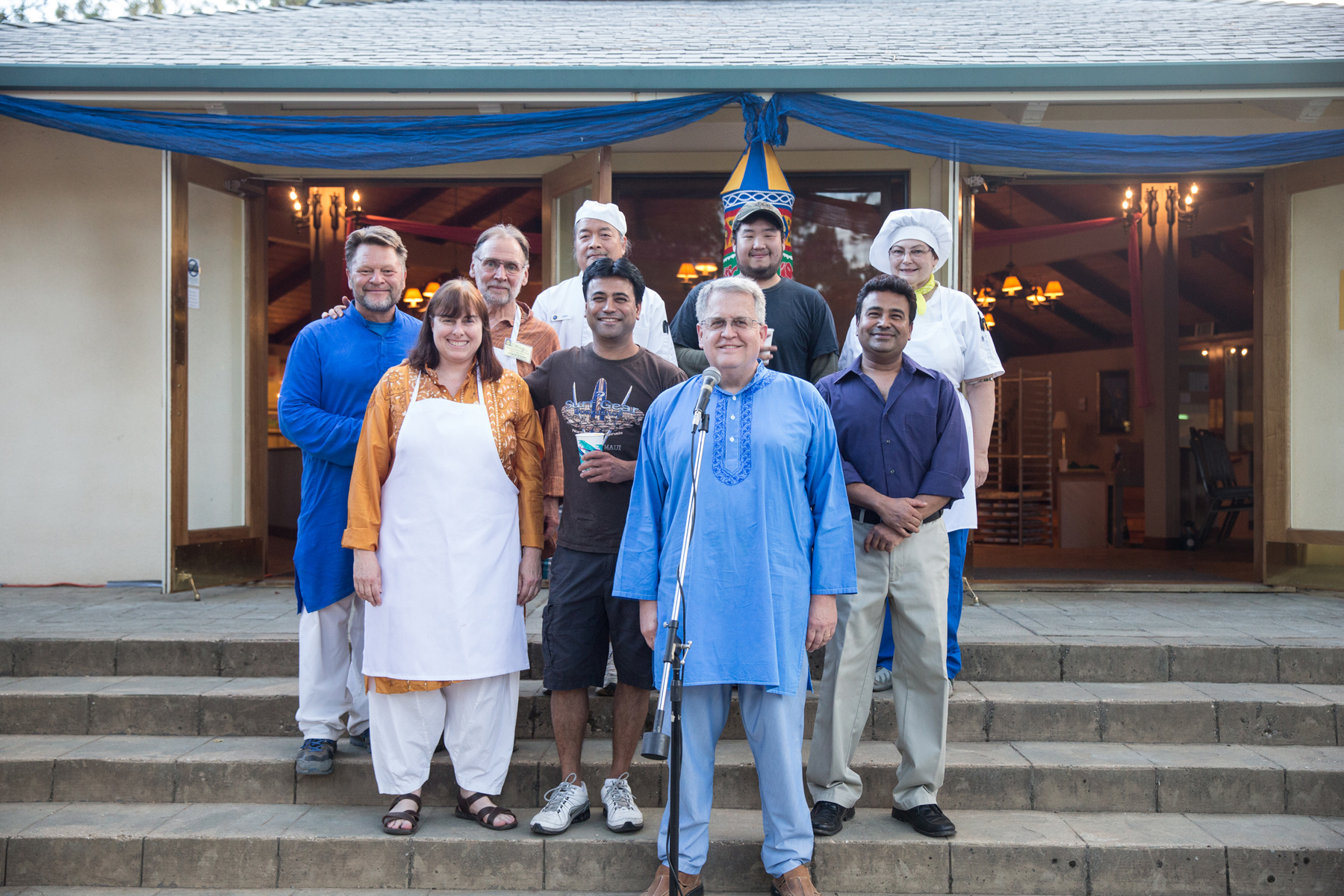 A small fraction of the volunteers that made SRW wonderful for everyone. These folks cooked that amazing Indian meal.