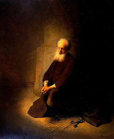 rembrandt-peter in prison